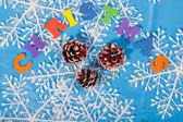 Christmas New Year Decoration — Fotografia Stock