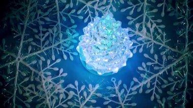 рождество новый год украшение — Стоковое видео
