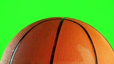 Basket Ball is Turning — Stock Video