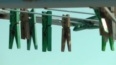 Clothes Peg — Stock Video