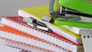 School Education Equipment Tools — Stock Video