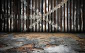 Abstract Wooden Interior Walls Stage Background — Stock Photo