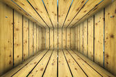 Abstract Urban Wooden interior Background Room Stage — Stock Photo