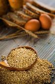 Хлеб и концепция пшеницы — Стоковое фото
