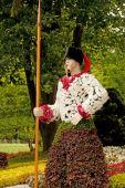 Ukrainian Cossack warrior — Stock Photo