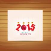 świąt bożego narodzenia i szczęśliwego nowego roku karty — Wektor stockowy