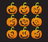Halloween pumpa — Stockvektor