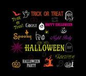 Halloween hand drawn elements — Vector de stock