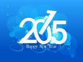 Feliz año nuevo 2015 — Vector de stock