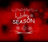 Holiday season light vector background — Stock Vector