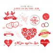 Set of icons for Valentines day — Stock Vector #61109443