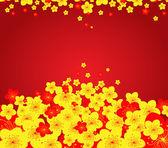 Chinese New Year greeting card — Stockvektor
