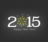 Happy new year snowflakes — Stock Vector