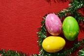Huevos coloridos — Foto de Stock