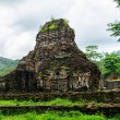 Side structure of My Son Cham towers — Stock Photo #75400821