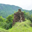 Side structure of My Son Cham tower — Stock Photo #75401733