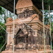 Side structure of My Son Cham tower — Stock Photo #75401759
