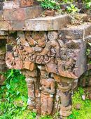 Relief of Hindu Temples at My Son in Vietnam - A UNESCO World Heritage Site — Stock Photo