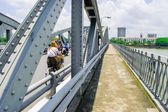 The Truong Tien bridge — Stock Photo