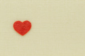Heart and love symbol on a light background — Stock Photo