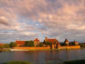 Malbork Castle — Стоковое фото