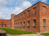 Brick barracks — Stock Photo
