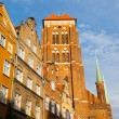 St. Marys Church in Gdansk — Stock Photo #53949315