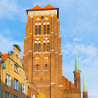 St. Marys Church in Gdansk — Stock Photo #55370681