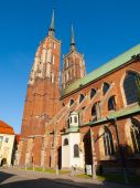 Wroclaw cathedral — Stock Photo