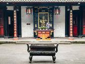 Wenshu Buddhist Monastery in Chengdu — Foto de Stock