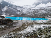 Milk Lake in Yading national level reserve — Stock Photo