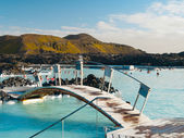 Blue Lagoon geothermal bath resort — Stock Photo