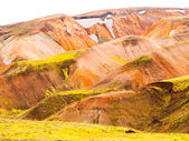 Rainbow mountains — Stock Photo