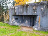 Army bunker — Stock Photo