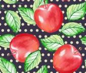 Apple pattern — Stock Vector