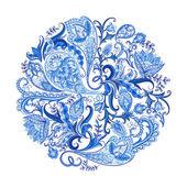 Paisley Decorative Pattern — Stock Vector