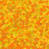 Pez escamas textura. arte vectorial. — Vector de stock