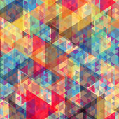 Geometriska färgbakgrund — Stockvektor