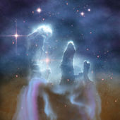 Pillars of Creation — Stock Photo