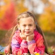 Girl in Autumn Park — Stock Photo #58789209