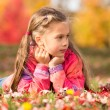 Girl in Autumn Park — Stock Photo #58789995