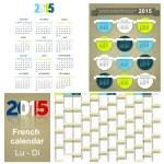 Calendar 2015 — Stock Photo #54261239