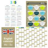Kalender 2015 — Stockfoto