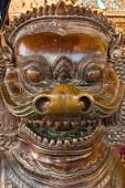 Bangkok kings palace ancient temple in thailand. — Stockfoto
