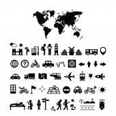 Traveler explorer icon — Stock Vector