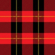 Red seamless tartan plaid  pattern   — Stock Vector #55294885