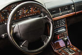 Interior of the sports car — Stock Photo