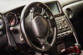 Interiér vozu sportovní — Stock fotografie