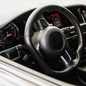 Interior of the sports car — Stock fotografie