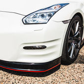 Linterna del coche deportivo — Foto de Stock